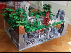 LEGO Star Wars Deutsch Imperiale Basis auf Endor (MOC) - YouTube