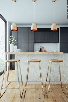 Dark Kitchens You'll Love | sheerluxe.com