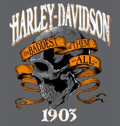Harley-Davidson Illustrations | Abduzeedo Design Inspiration