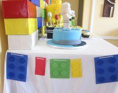 """Photo 6 of Lego Ninjago / Birthday """"Lego Ninjago Birthday Party"""" Lego Themed Party, Lego Birthday Party, Star Wars Birthday, 6th Birthday Parties, Birthday Ideas, Lego Ninjago, Ninjago Party, Lego Duplo, Lego Banner"""