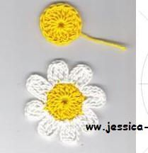 (321) crochet flower pattern bloemen haken haakpatroon                                                                                                                                                      Mais
