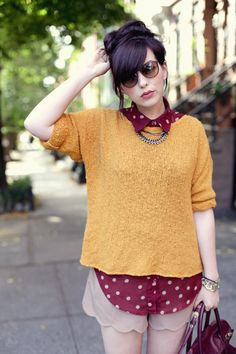 Weekend Wear: Raspberry Mustard