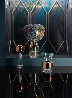 Vases Tank (Tom Dixon) | maison & objet, design, décoration. Plus d'articles sur http://www.bocadolobo.com/en/products/