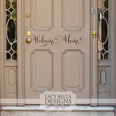 """Welcome Home"" www.lacybella.com 