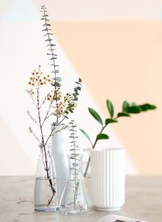 flowers di atas meja :)