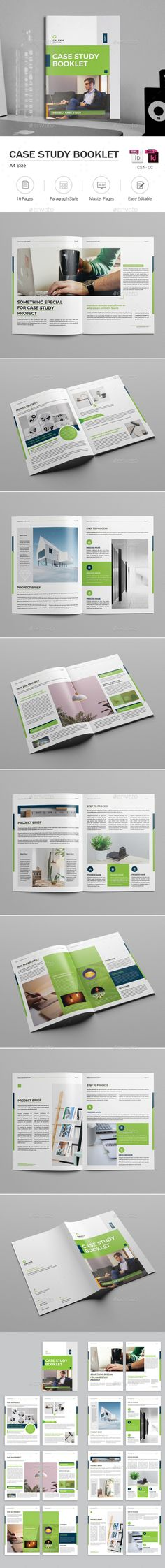 Case Study Booklet  Booklet Template Template And Brochures