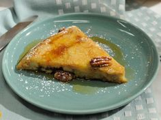 Banana Dutch Baby Pancake Recipe : Katie Lee : Food Network - FoodNetwork.com  -Would be great to try with soft cooked apples!