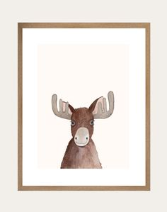 These gorgeous woodland illustrations are sure to be popular with your little ones and will be a lovely addition to any child's room  Morris is known for his compassion for others and his unmissable antlers. He stands up for his beliefs and is loyal to his friendships. All Lelly Lou art prints are printed on high-quality matte paper, signed & numbered  by Lelly herself and embossed with Lelly Lou signature stamp. Limited edition of 250