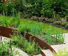 Landscaping Ideas: 8 Surprising Ways to Use Cor-ten Steel in a Garden - Gardenista