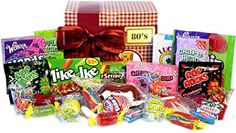 Candy Crate Old Fashioned Sweets Decade Gift Box 1980's
