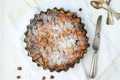 Comment utiliser les restes de pain? la recette du bread pudding aux pommes et caramel est parfaite pour ne plus jetter le pain!