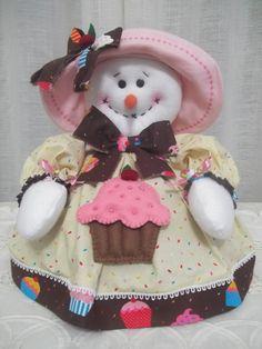 bolos de boneco de neve - Pesquisa Google