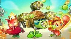 Plants vs Zombies 2 Hack - New Plant: Match Flower Boxer & Firebloom Que...