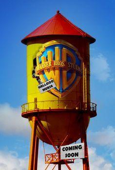 Warner Bros Water Tower | Jane Heinrichs: Sketches from ...