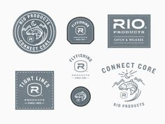 Rio Products Patch Designs by Kevin Kroneberger