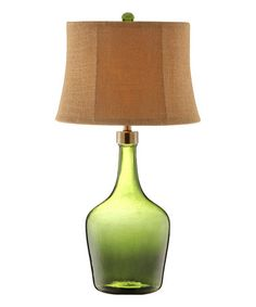 Green Trent Table Lamp #zulily #zulilyfinds