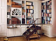Projets biblioth que on pinterest salons deco salon and livres for Bibliotheque deco