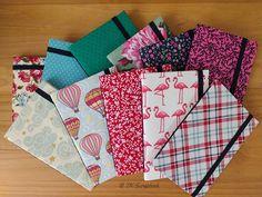 Cadernos artesanais tipo moleskine (visão geral dos cadernos) #tkscrapbook
