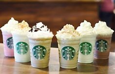Starbucks puts 6 new Frappuccino flavors on the menu; we try them all