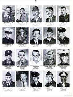 Life Magazine, June 1969 issue pictured photos of the 242 soldiers who died in one week in the Vietnam War. The visual stunned America to face the loss of such vibrant, young men pictured on page after page. Click through to access the entire issue of Life.  LIFE - Google Books
