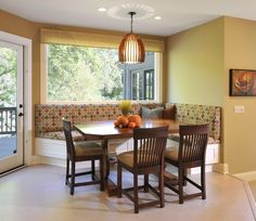 Corner Banquet - Lake Country Builders - contemporary - kitchen - minneapolis - Lake Country Builders