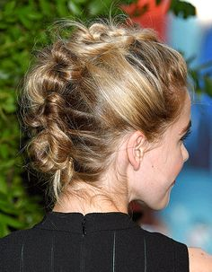 Kiernan Shipka's Faux Hawk Hairstyle: How to Create the Look - Us Weekly