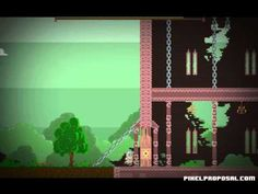 A pixel proposal--guy makes a video game to propose to his girlfriend