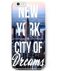 Ukase Phone Cases for Iphone 6 (2014) / iPhone 6S (2015)- Ideal Gift - New York the City of Dream