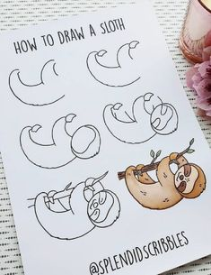 Looking to add some decoration to all your bullet journal spreads? Check out these super cute step by step animal doodles to get started! Cute Easy Drawings, Cool Art Drawings, Doodle Drawings, Hipster Drawings, Drawing Ideas, Bullet Journal Writing, Bullet Journal Ideas Pages, Bullet Journal Inspiration, Doodle Art For Beginners