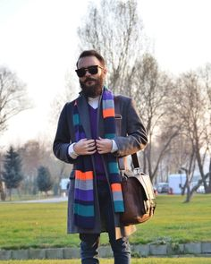 A Colorful Winter #mensfashion #mensstyle #mensoutfit #fashion #style