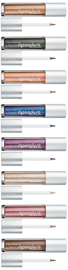 Desiring more sparkly goodness in your makeup life? Was the Urban Decay Moondust Palette not enough? Well, now Urban Decay Liquid Moondust Eyeshadow is tot