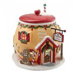 North Pole Cookie Exchange village piece
