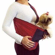 bolsa transporte cães gatos sling pet canguru g pet shop
