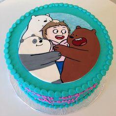 We Bare Bears here to help celebrate their newest friends birthday! #webarebears…