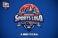 Ad: Sports Logo Graphic Styles Pack by Vectricity Designs on Easily create complex Sports Logos with these 26 unique graphic styles for Adobe Illustrator. These styles are perfect for Sports team Pet Logo, Free Logo Psd, Hockey, Sports Team Logos, Esports Logo, Sport Motivation, Football, Kids Sports, Juventus Logo