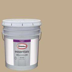 5 gal. #HDGWN46 Soft Suede Eggshell Interior Paint