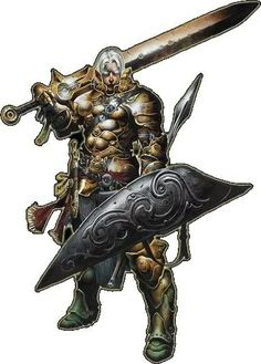 paladin, dungeons and dragons, badass, armor, swor Pictures ...