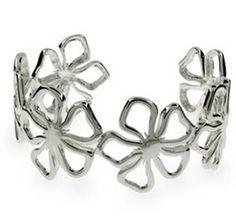 Tiffany & Co Flower Cuff Bangle