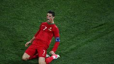 Cristiano #Ronaldo made it five #goals in two matches for #Portugal with a sumptuous #strike against the #FaroeIslands. #CristianoRonaldo #cr7 #soccerplayers #soccer #goal