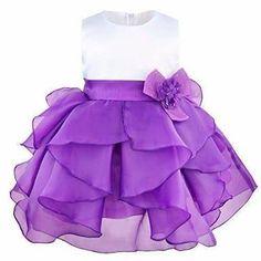 New Petals Baby Party Dress Baby Girl Wedding Dress, Wedding Dress Organza, Wedding Dresses With Flowers, Wedding Dresses For Girls, Baby Girl Dresses, Tutus For Girls, Flower Girl Dresses, Baby Girls, Organza Dress