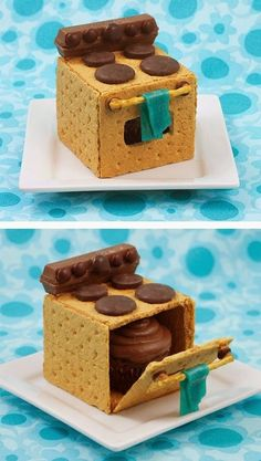 """Perfect Cupcake """"box"""" - this is the cutest ever!"""