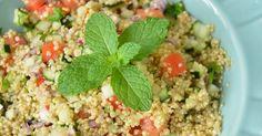 Ingredientes 4 colheres (sopa) de quinoa 10 colheres (sopa) de água 1/2 colher (sobremesa) de sal