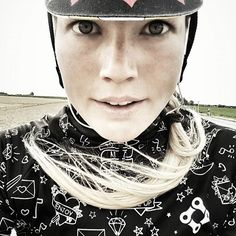 Great shot of #maryywilke sporting her @bikeinside_cycling_wear  love it   Regram: @maryywilke Cycling Wear, Alexander Mcqueen Scarf, Cycling Clothes, Cycling Outfits