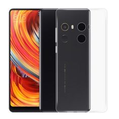 Xiaomi Mi Mix 2 Transparent Smartphone Protective Clear Soft Phone Case Cover #Xiaomi