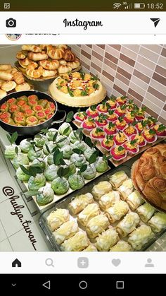 Fingerfood Party, Appetizers For Party, Appetizer Recipes, Party Finger Foods, Pinterest Recipes, Pinterest Food, Food Displays, Brunch Party, Food Decoration