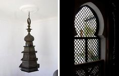Moroccan metalwork and window screens two of my favourite things - Rock the Casbah: Nord-Pinus Tanger : Remodelista