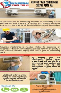 When you need the best quality air conditioning service Cheapest Air conditioning service in Perth  will keep your residential or commercial air conditioning system running smoothly to its maximum output all year round. To know more visit us at 101 Murray St Perth WA 6000 or  Call us at 894688014