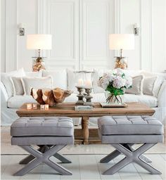 Use these gorgeous modern living room ideas, even if you have a small living room, as a starting point for your next decorating project. #livingroom #livingroomideas