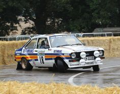 Ford Escort rally car. If the U.S. Escorts were these rear wheel drive Cosworth powered Escorts, that would have been awesome. Instead we got those shitty front wheel drive squirrel powered turds.....