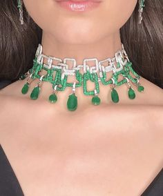 """Introducing """"Athena"""" by Stefano Canturi our newest high jewel inspired by the Goddess of wisdom and strength. Featuring a collection of Zambian emeralds with a 21.85ct centre emerald, surrounded by diamonds. Made in Australia by hand with love!"""
